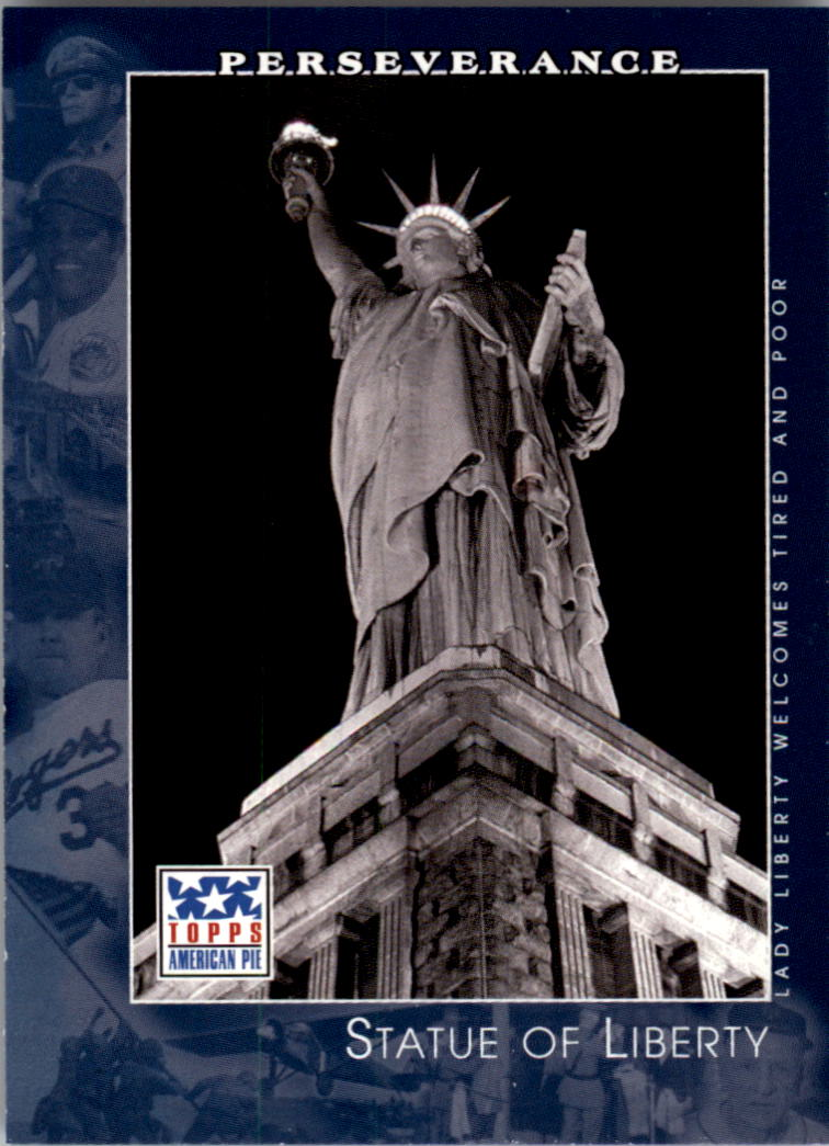 2002 Topps American Pie #66 Statue Of Liberty