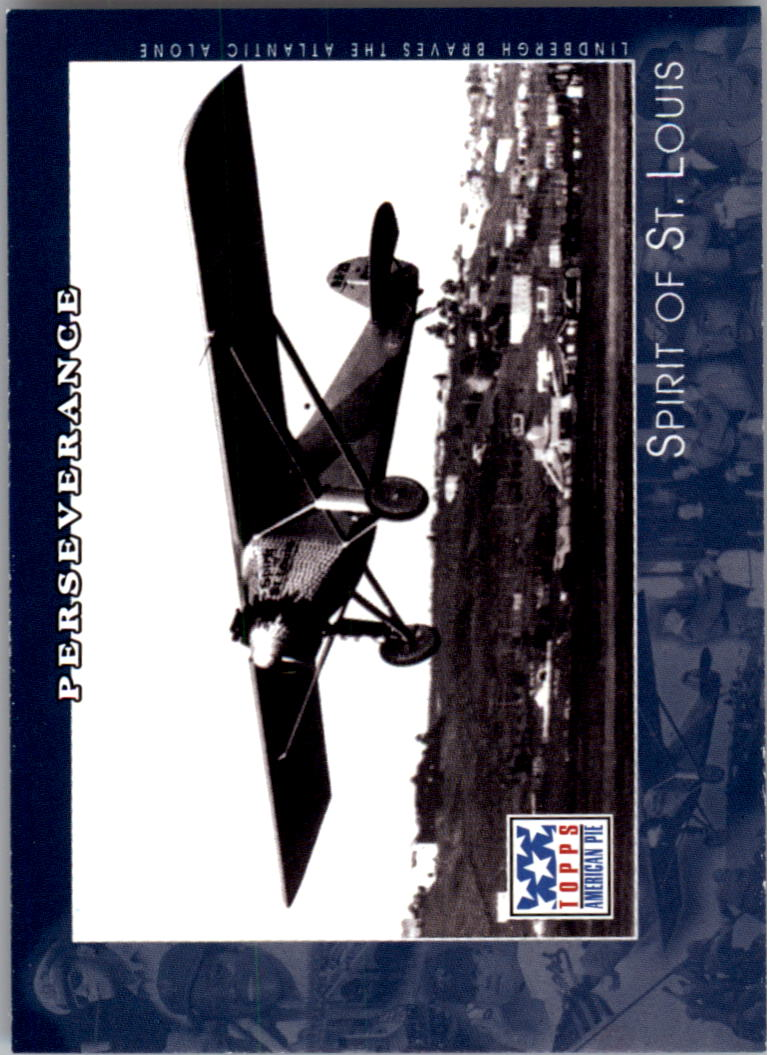 2002 Topps American Pie #71 Spirit Of St. Louis/Lindbergh
