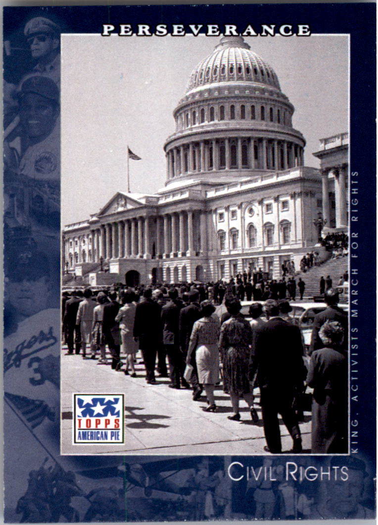 2002 Topps American Pie #72 Civil Rights/We Shall Overcome