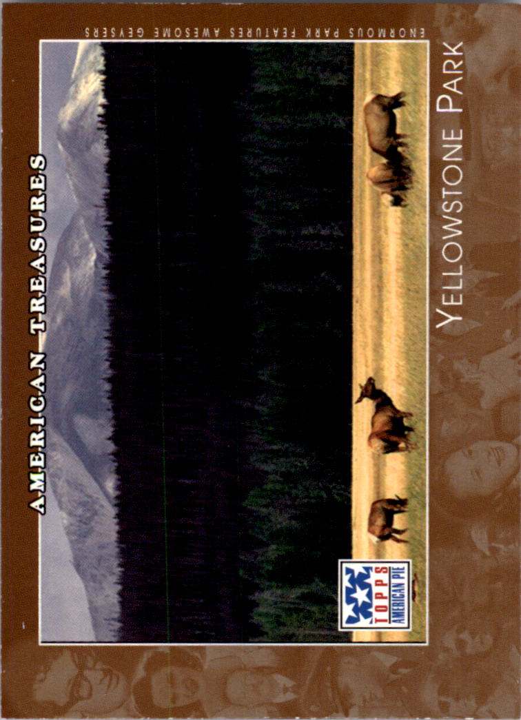 2002 Topps American Pie #79 Yellowstone Park