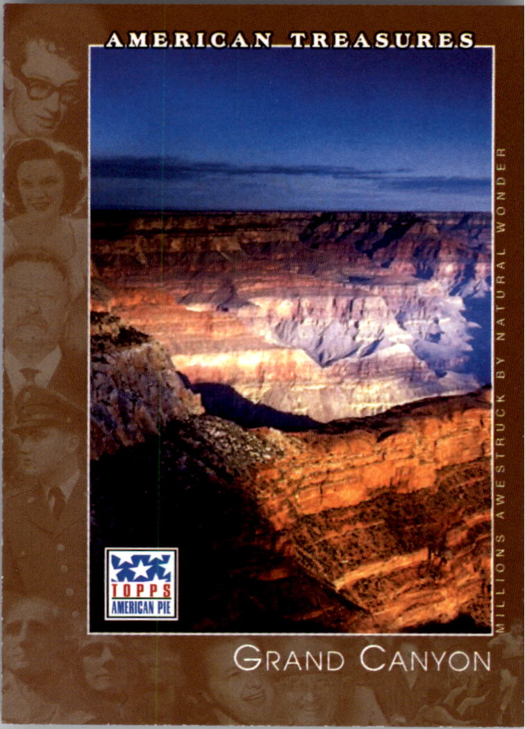 2002 Topps American Pie #81 Grand Canyon