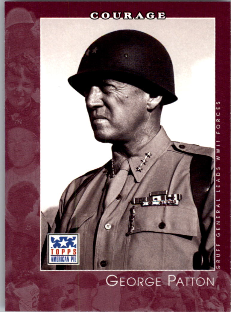 2002 Topps American Pie #83 George Patton