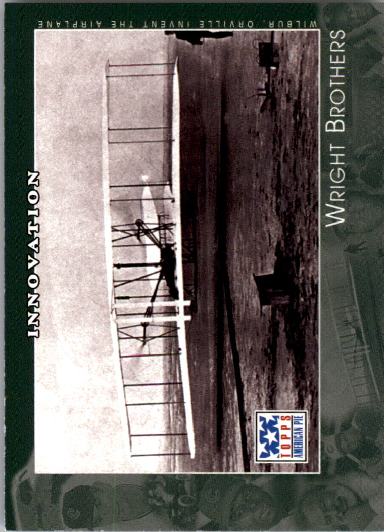 2002 Topps American Pie #99 Wright Brothers
