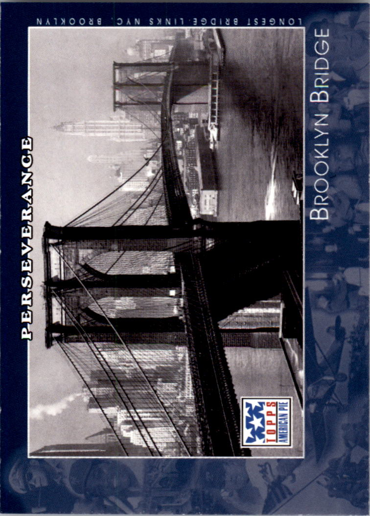 2002 Topps American Pie #114 Brooklyn Bridge