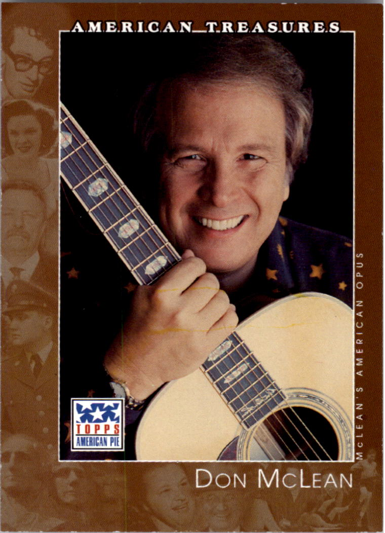 2002 Topps American Pie #120 Don McLean
