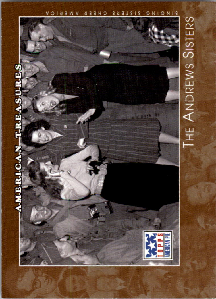 2002 Topps American Pie #124 The Andrews Sisters