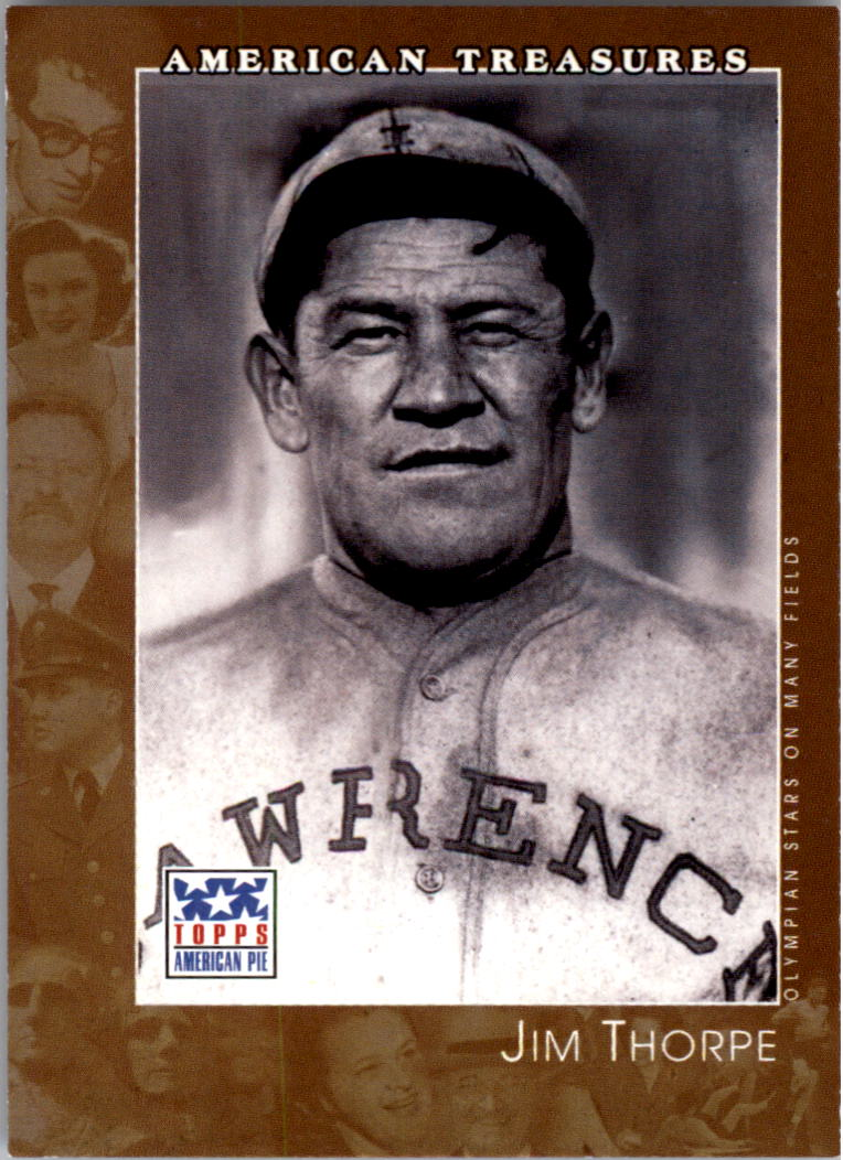 2002 Topps American Pie #125 Jim Thorpe
