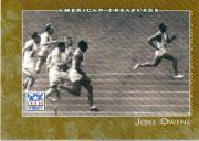 2002 Topps American Pie #127 Jesse Owens