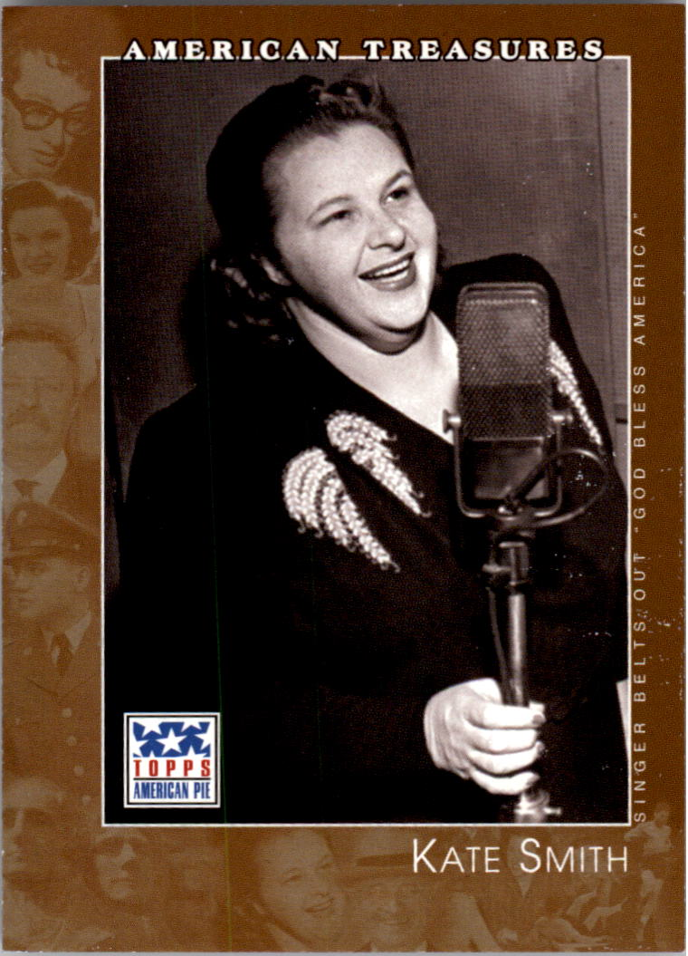 2002 Topps American Pie #128 Kate Smith