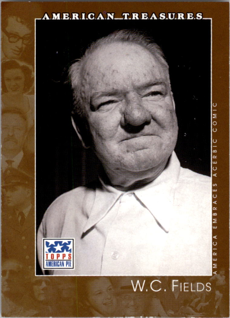 2002 Topps American Pie #129 W.C. Fields