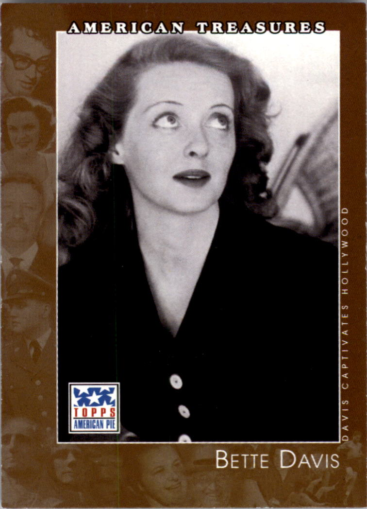 2002 Topps American Pie #130 Bette Davis
