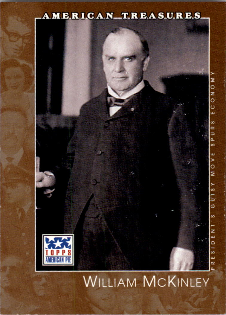 2002 Topps American Pie #132 William McKinley