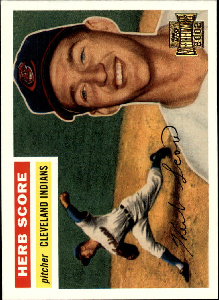 2002 Topps Archives #10 Herb Score 56