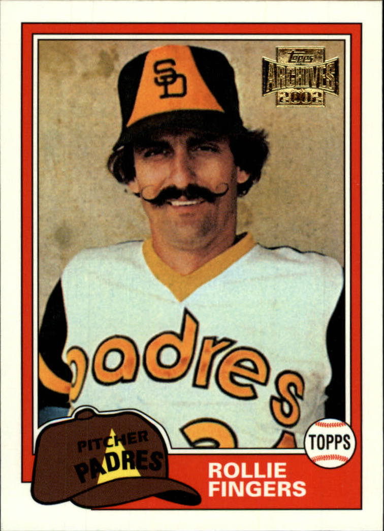 2002 Topps Archives #18 Rollie Fingers 81