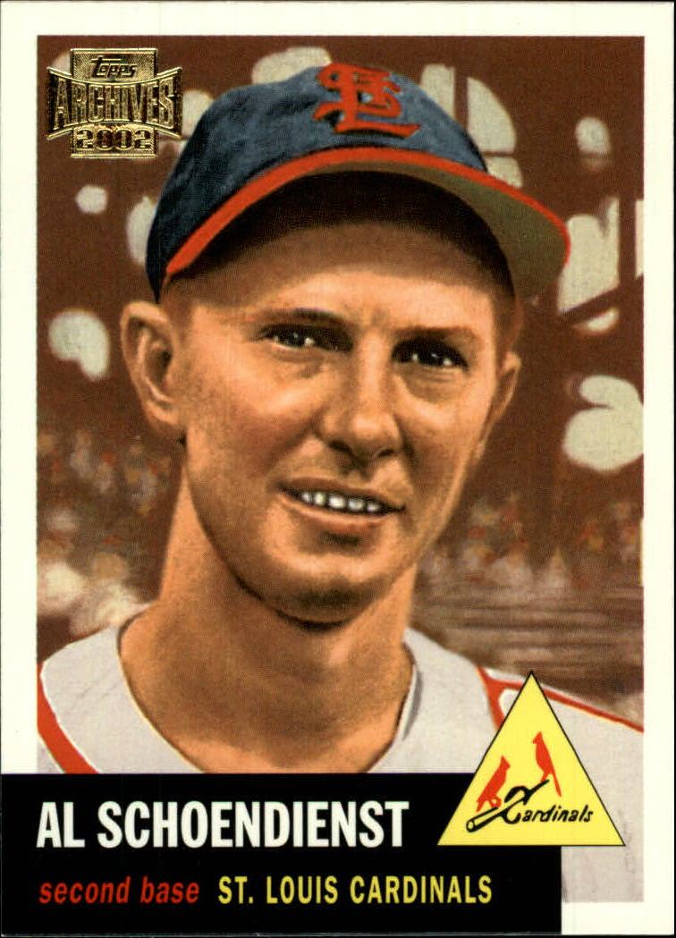 2002 Topps Archives #20 Red Schoendienst 53