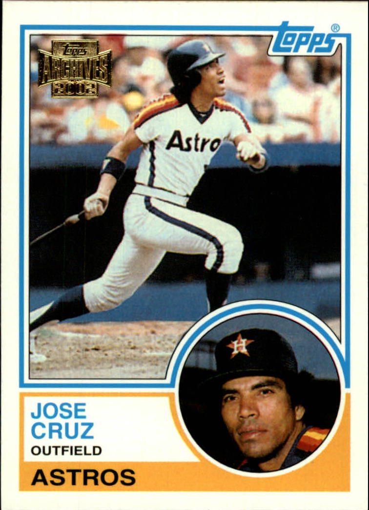 2002 Topps Archives #22 Jose Cruz 83