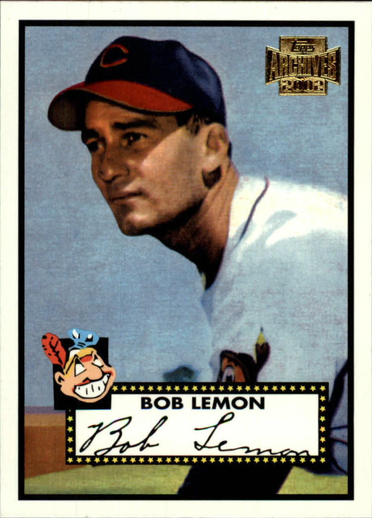 2002 Topps Archives #37 Bob Lemon 52