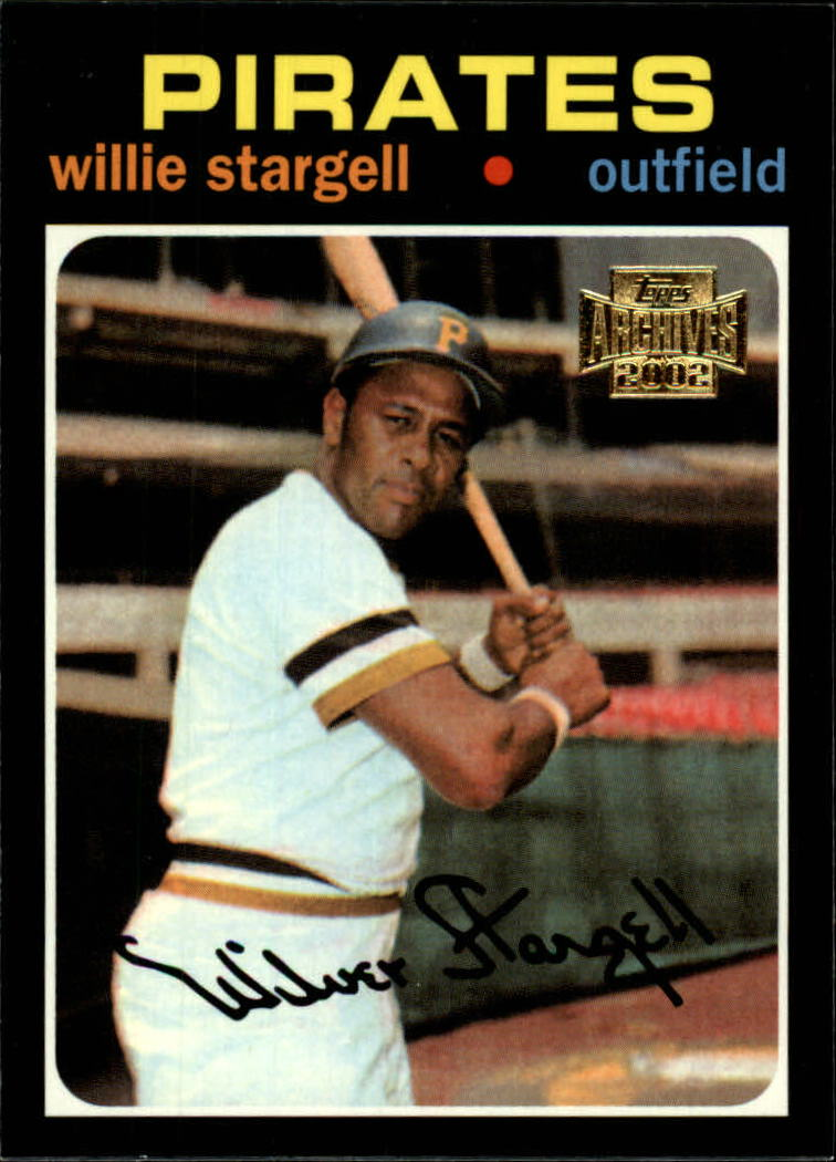 2002 Topps Archives #38 Willie Stargell 71