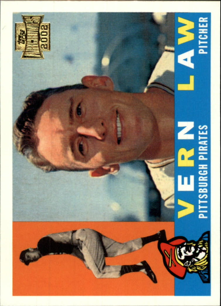 2002 Topps Archives #56 Vern Law 60