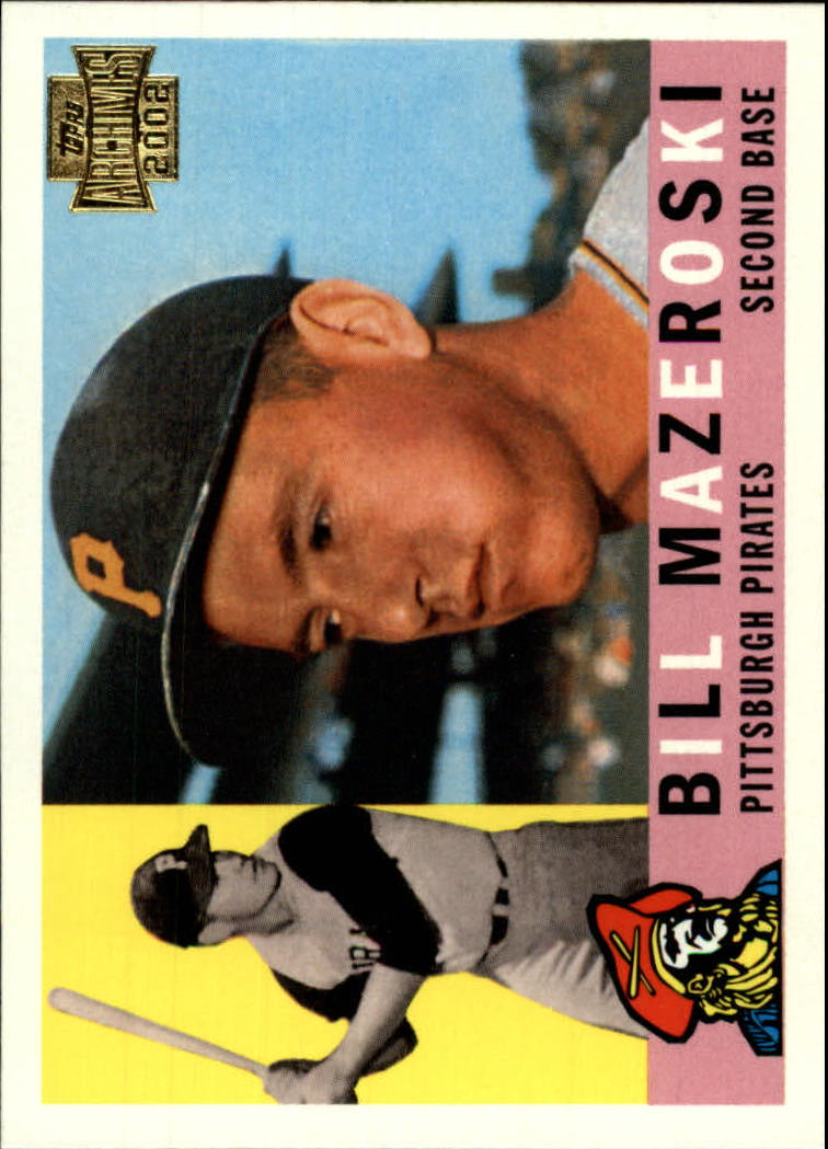 2002 Topps Archives #59 Bill Mazeroski 60