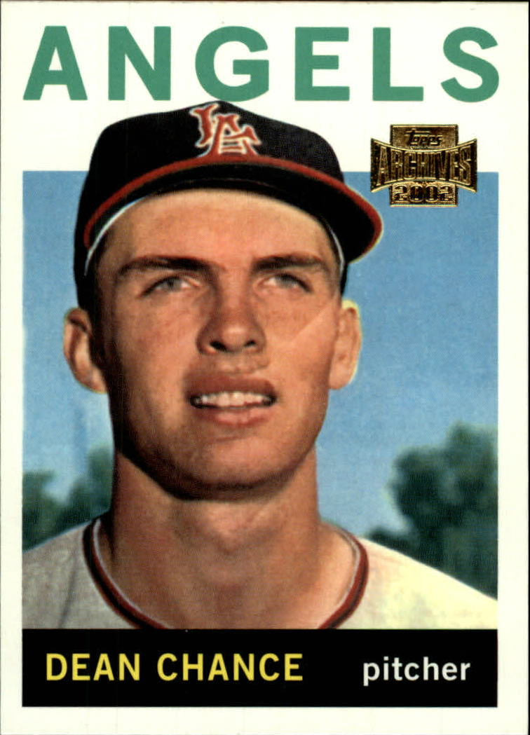 2002 Topps Archives #65 Dean Chance 64