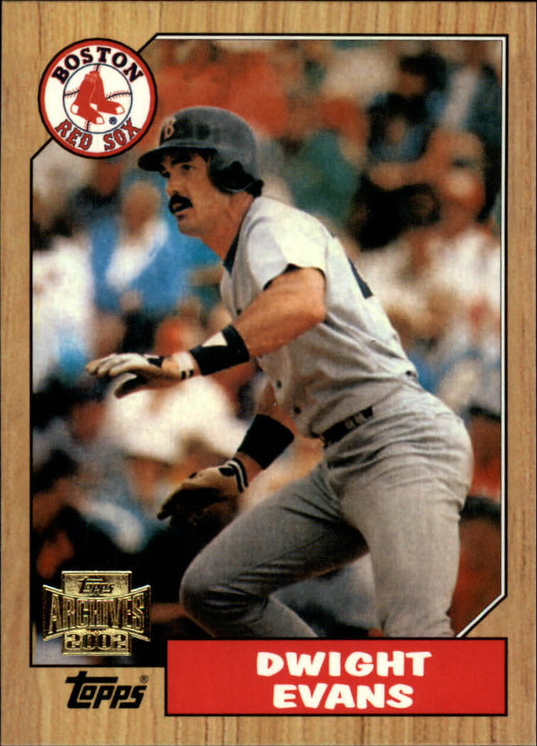 2002 Topps Archives #67 Dwight Evans 87
