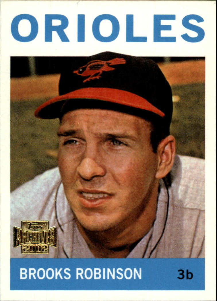 2002 Topps Archives #74 Brooks Robinson 64