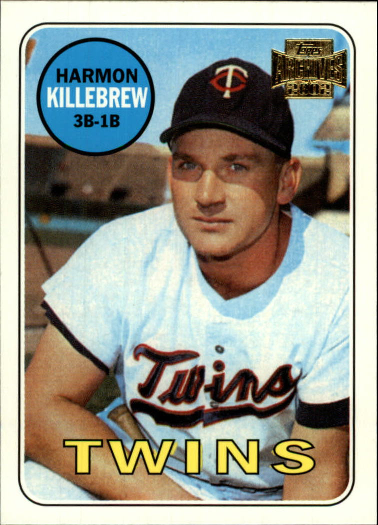 2002 Topps Archives #78 Harmon Killebrew 66