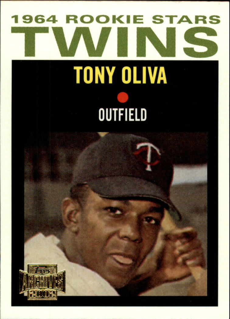 2002 Topps Archives #89 Tony Oliva 64