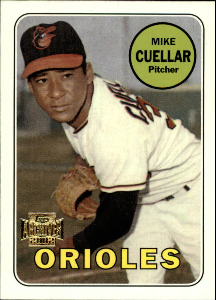 2002 Topps Archives #92 Mike Cuellar 69