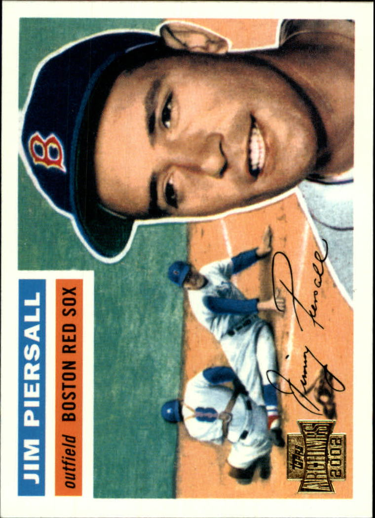 2002 Topps Archives #95 Jimmy Piersall 56