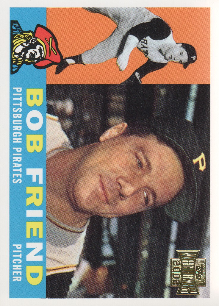 2002 Topps Archives #98 Bob Friend 60 front image