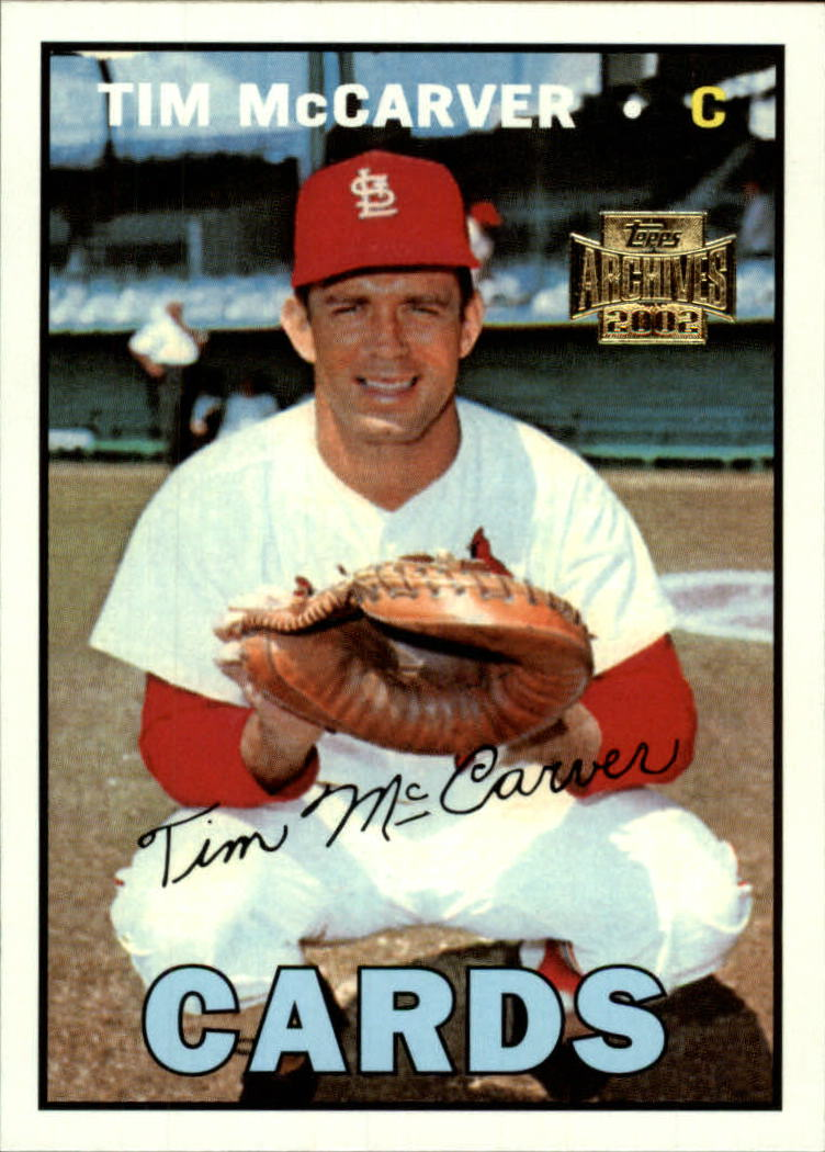 2002 Topps Archives #106 Tim McCarver 67