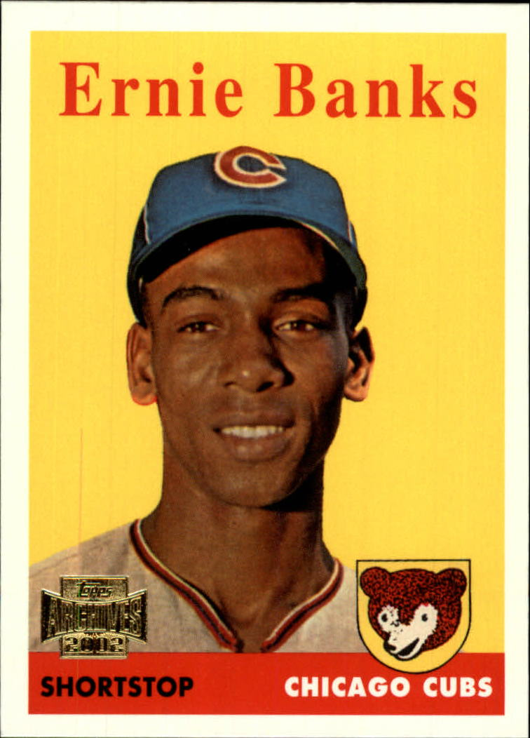 2002 Topps Archives #107 Ernie Banks 58