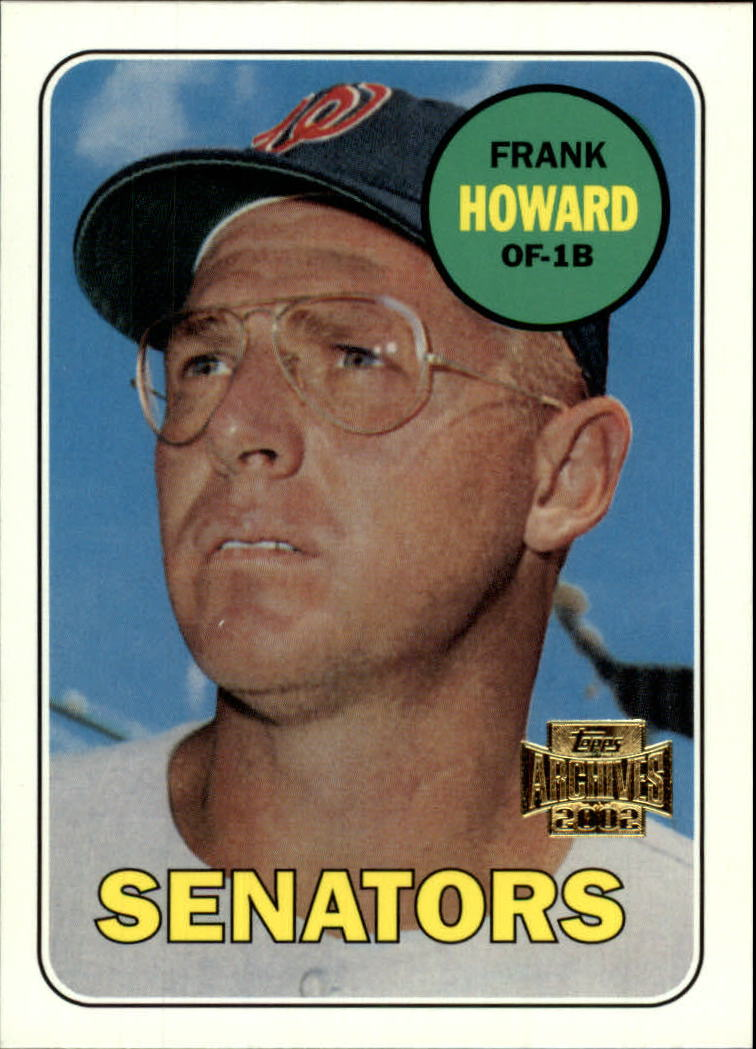 2002 Topps Archives #123 Frank Howard 69