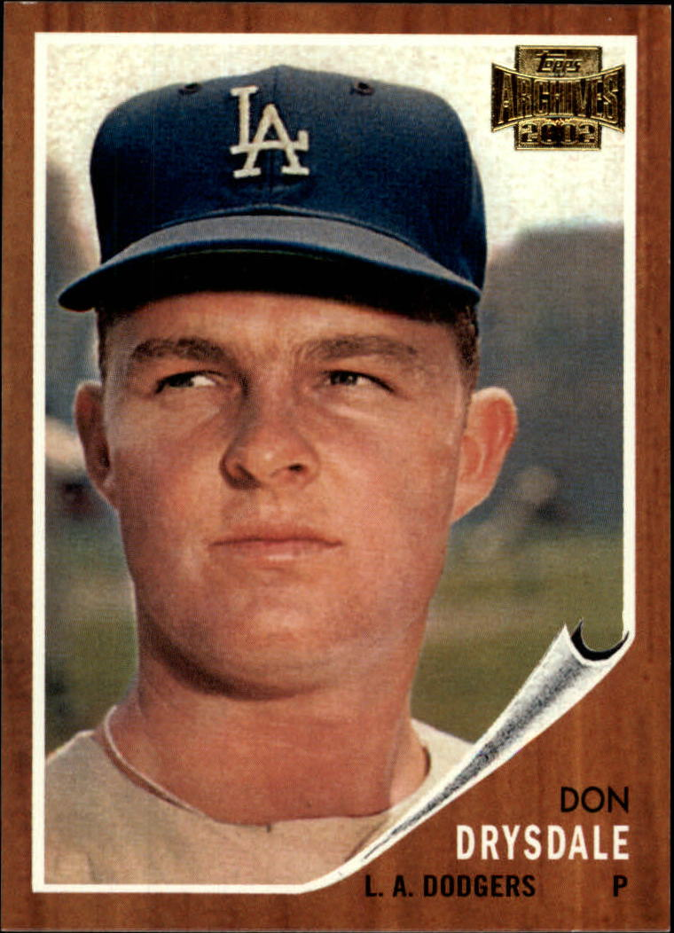 2002 Topps Archives #136 Don Drysdale 62