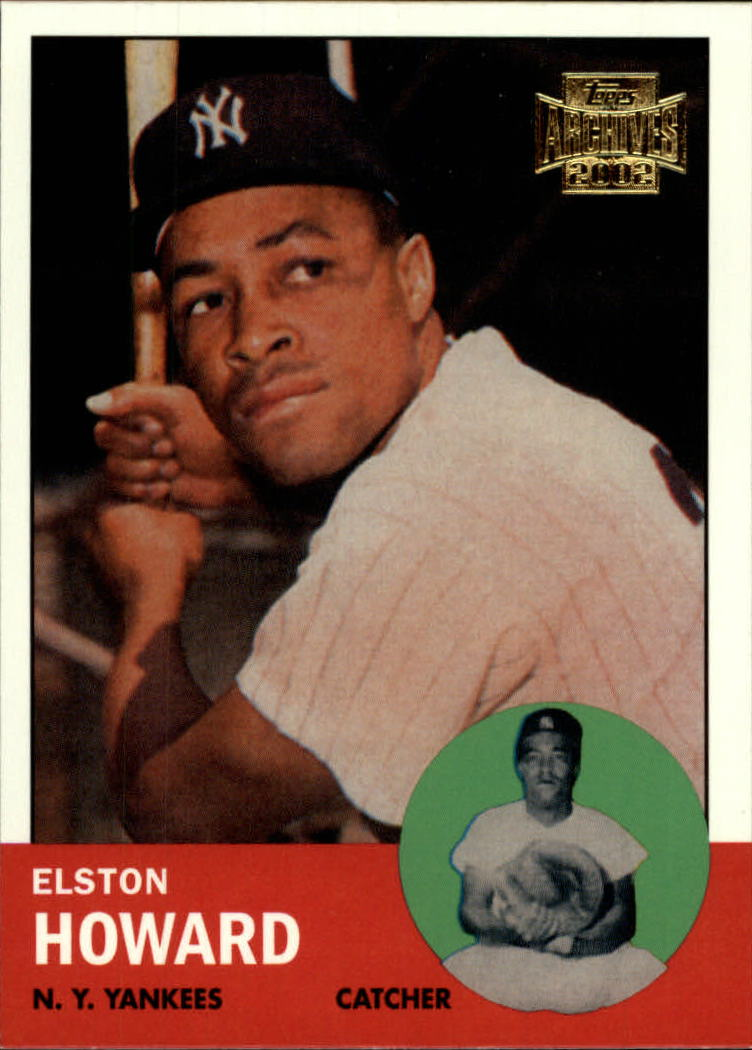 2002 Topps Archives #138 Elston Howard 63