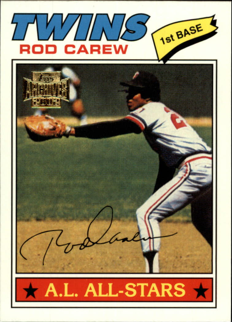 2002 Topps Archives #146 Rod Carew 77