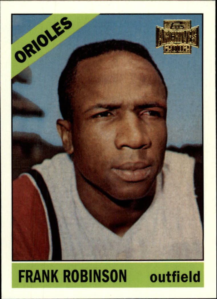 2002 Topps Archives #158 Frank Robinson 66