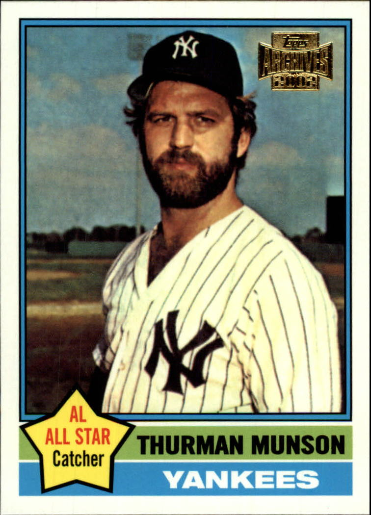 2002 Topps Archives #174 Thurman Munson 76
