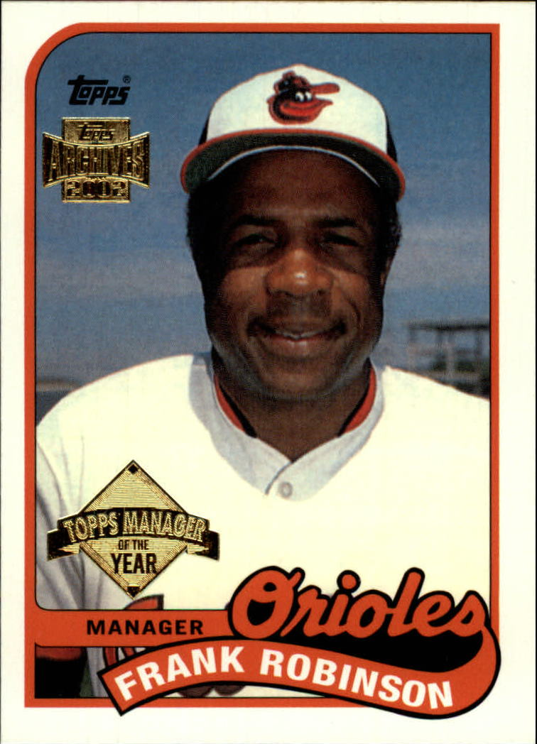2002 Topps Archives #179 Frank Robinson 89 MG