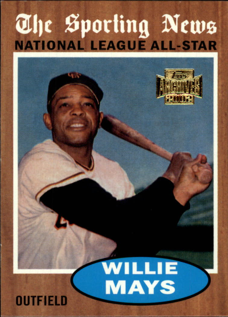 2002 Topps Archives #182 Willie Mays 62 AS front image