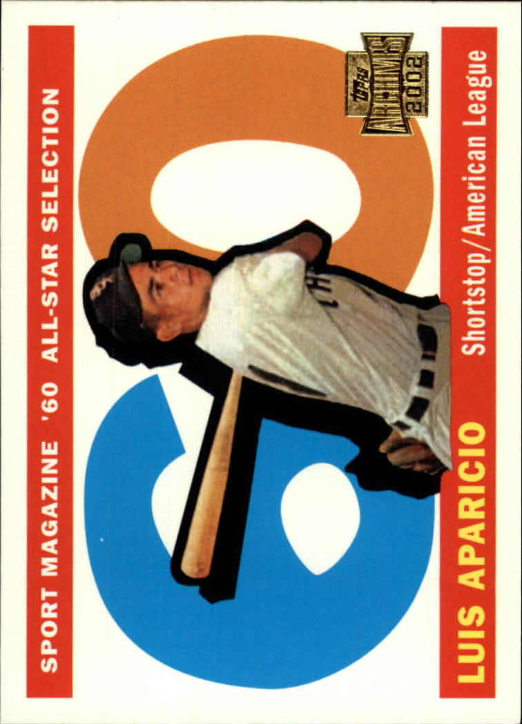 2002 Topps Archives #183 Luis Aparicio 60 AS