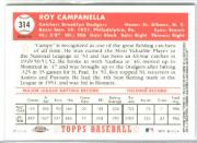 2002 Topps Chrome 1952 Reprints Refractors #52R1 Roy Campanella back image