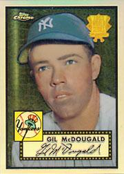 2002 Topps Chrome 1952 Reprints Refractors #52R8 Gil McDougald