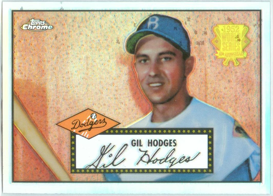 2002 Topps Chrome 1952 Reprints Refractors #52R12 Gil Hodges