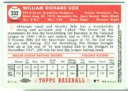 2002 Topps Chrome 1952 Reprints Refractors #52R13 Billy Cox back image