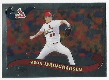 2002 Topps Chrome Traded #T4 Jason Isringhausen