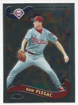 2002 Topps Chrome Traded #T16 Dan Plesac