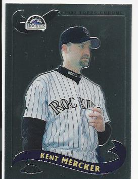 2002 Topps Chrome Traded #T35 Kent Mercker
